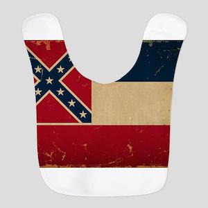 Mississippi State Flag Bib