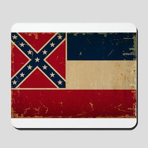 Mississippi State Flag Mousepad