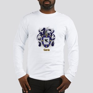 Garcia Family Crest / Coat of Long Sleeve T-Shirt