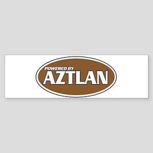 Powered By Aztlan Bumper Sticker