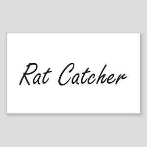 Rat Catcher Artistic Job Design Sticker