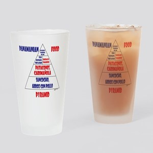Panamanian Food Pyramid Pint Glass