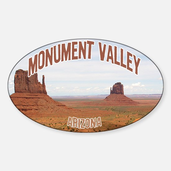 Monument Valley Oval Decal
