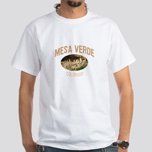 Mesa Verde National Park White T-Shirt