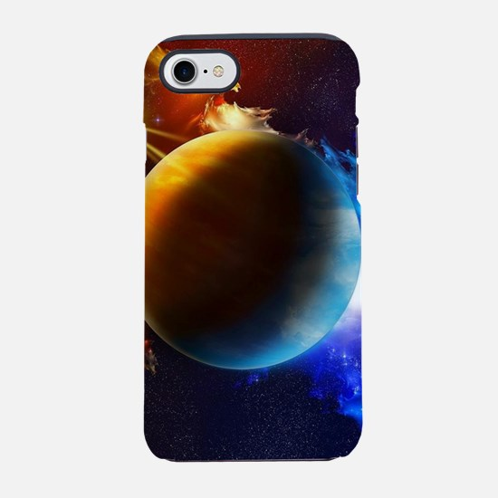 Planet And Space iPhone 8/7 Tough Case