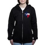 Forever Texas Dark Women's Zip Hoodie