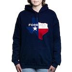 Forever Texas Dark Women's Hooded Sweatshirt