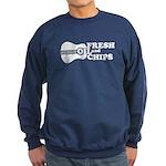 Fresh Oil And Chips Sweatshirt (dark)