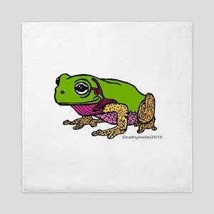 Little Frog Queen Duvet