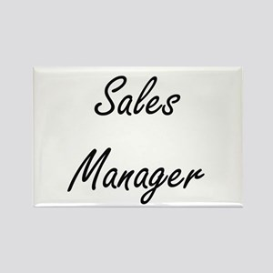 Sales Manager Artistic Job Design Magnets