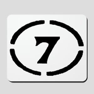 Circle 7 Mousepad