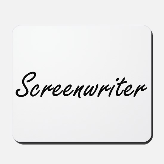 Screenwriter Artistic Job Design Mousepad