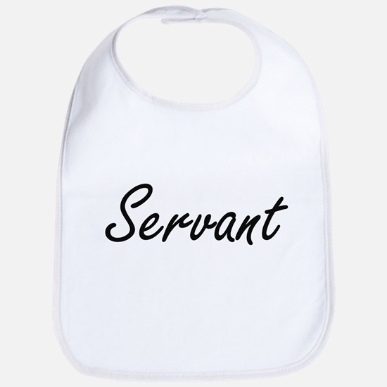 Servant Artistic Job Design Bib