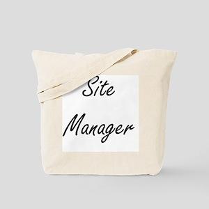 Site Manager Artistic Job Design Tote Bag