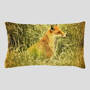 nature wildlife red fox Pillow Case