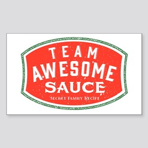 Team Awesome Sauce Sticker