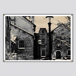 vintage church street light Banner