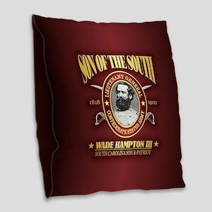Wade Hampton (sots2) Burlap Throw Pillow
