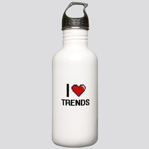 I love Trends digital Stainless Water Bottle 1.0L