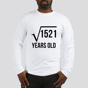 39 Years Old Square Root Long Sleeve T-Shirt