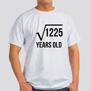 35 Years Old Square Root T-Shirt