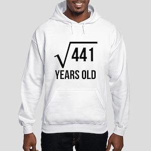21 Years Old Square Root Hoodie