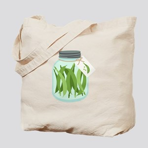 Pickled Green Beans Tote Bag