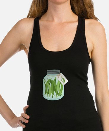 Pickled Green Beans Racerback Tank Top
