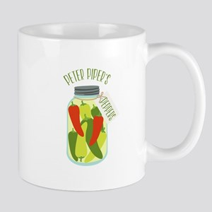 Peter Pipers Peppers Mugs