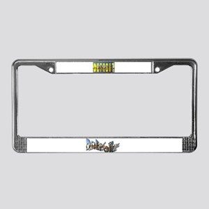 DETROIT  License Plate Frame,HIT LINK TO SEE CLOSE