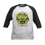 Cabrales Family Crest Kids Baseball Jersey