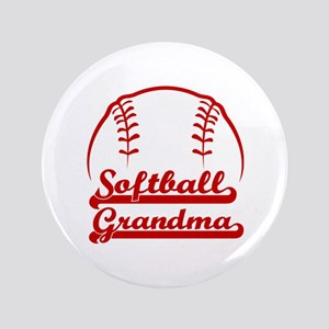 SOFTBALL GRANDMA Button