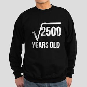 50 Years Old Square Root Sweatshirt