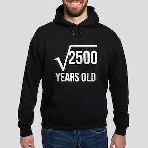 50 Years Old Square Root Hoodie