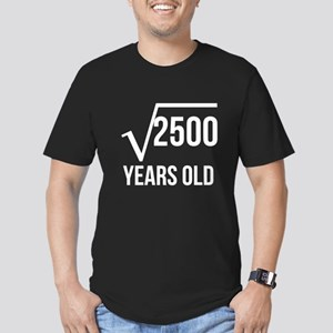 50 Years Old Square Root T-Shirt