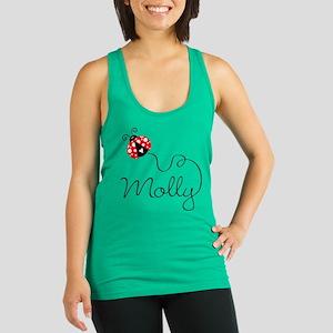 Ladybug Molly Racerback Tank Top