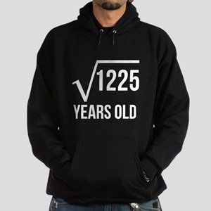 35 Years Old Square Root Hoodie