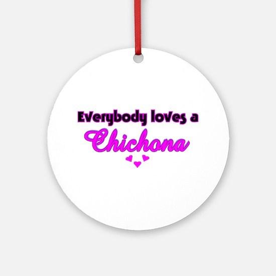 Chichona Ornament (Round)
