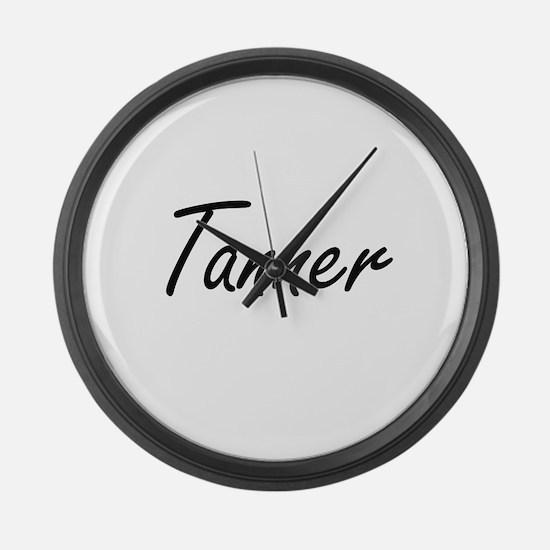 Tanner Artistic Job Design Large Wall Clock