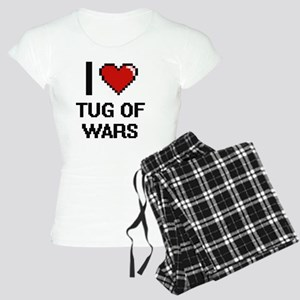 I love Tug Of Wars digital Women's Light Pajamas