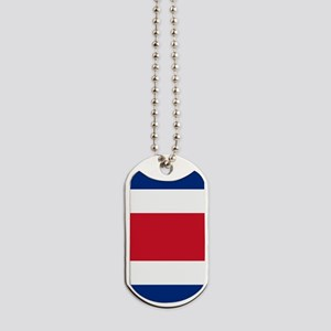 Costa Rica Flag Dog Tags