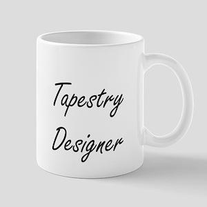 Tapestry Designer Artistic Job Design Mugs