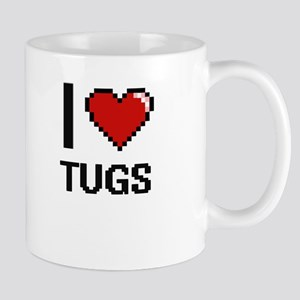 I love Tugs digital design Mugs
