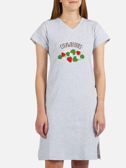 Strawberries Women's Nightshirt