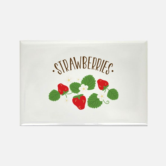 Strawberries Magnets