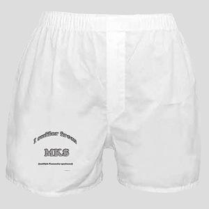 Komondor Syndrome Boxer Shorts
