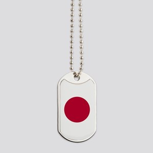 Japan Flag Dog Tags