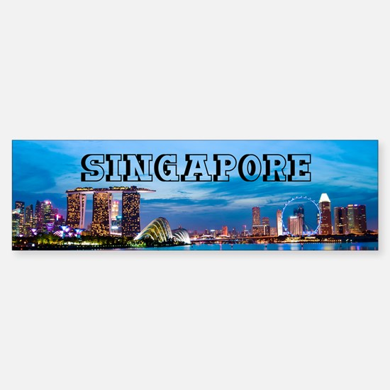 Singapore Sticker (Bumper)