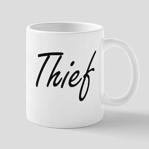 Thief Artistic Job Design Mugs