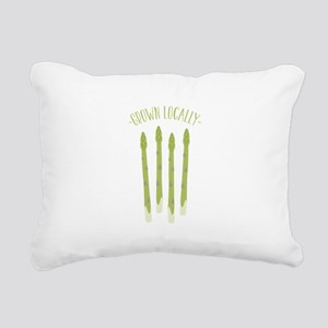 Grown Locally Rectangular Canvas Pillow